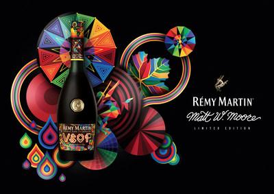 Rémy Martin se asocia con el artista Matt W. Moore para obtener una nueva perspectiva del mundo que nos rodea